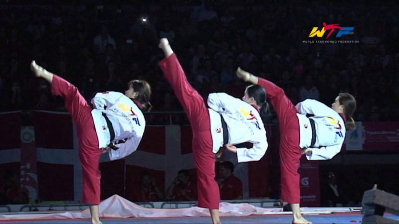 4th POOMSAE TAEGUK SA CHANG