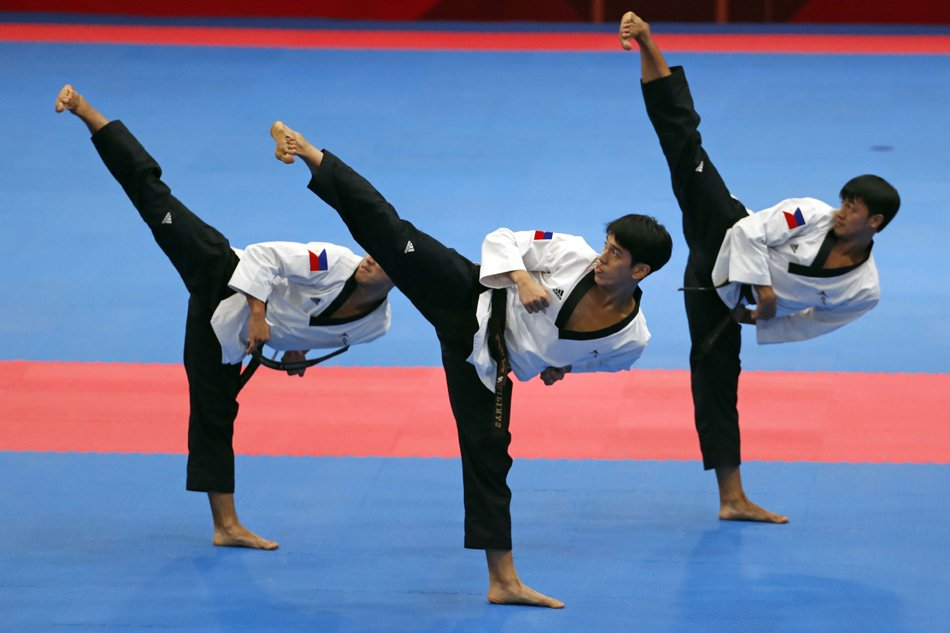 5th POOMSAE TAEGUK OH CHANG
